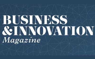 Business and Innovation Magazine with Black Codher